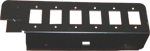 Adapterplate 6 port SC simplex